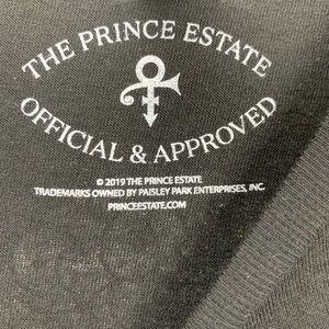 Prince Tops - Prince Paisley Park Moon Silhouette Tee Sz M